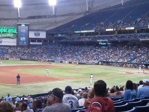 Baseball Stadiums Tropicana Field