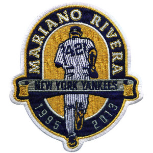 Mariano Rivera Retirement Patch