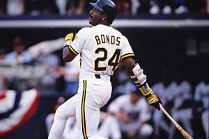 30-30 Club Barry Bonds Pittsburgh Pirates